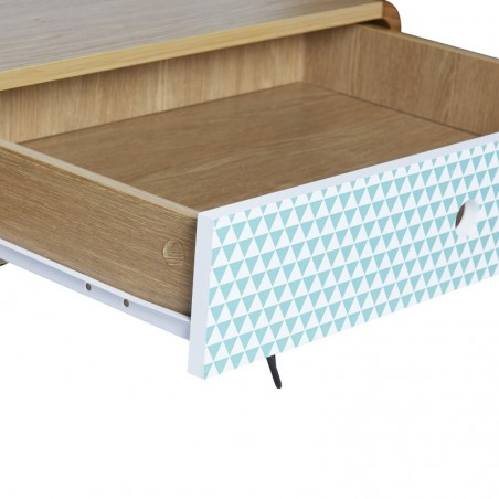 Mesa de centro con 1 cajón Elena